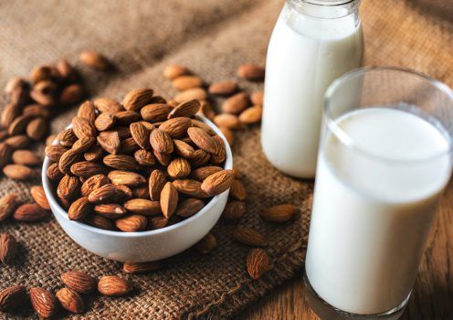 almonds for iron