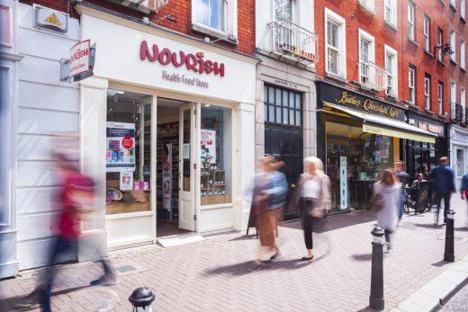 Nourish Liffey Street Store Exterior
