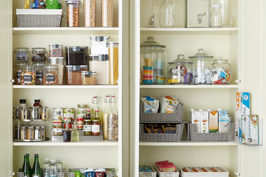 How To Eat Super Healthy on a Budget stock up pantry staples