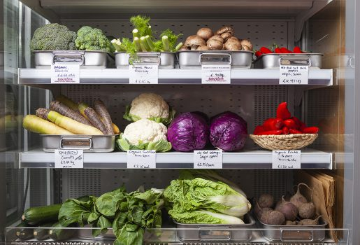 Nourish veggie shelf