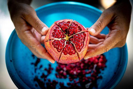 pomegranate dietary change