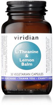 l-theanine viridian supplements