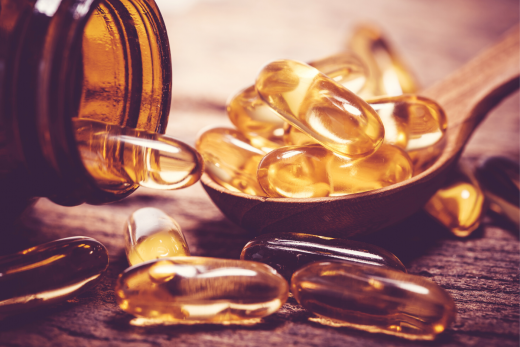 Omega 3 oil for brain health