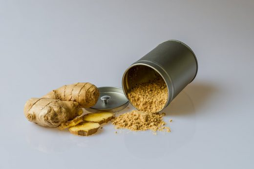 candida overgrowth ginger