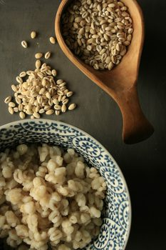 pearl barley salad with green beans