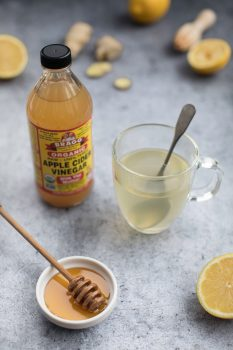 Braggs Organic Apple Cider Vinegar as tonic for sinus infection
