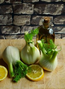 fennel for chickpea soup