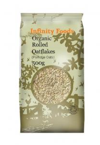 Infinity Foods Organic Rolled Oatflakes 500g