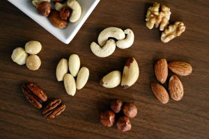 selection of nuts