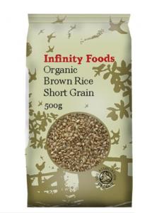 Infinity short grain brown rice
