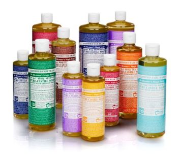dr bronners for environmentally friendly cleaning