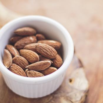 almonds are great snacks to fuel your yoga practice