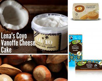 Coyo vanoffee cheesecake chocolate treats