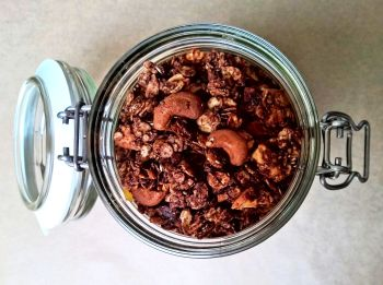 Chocolate Treats Chocolate Granola
