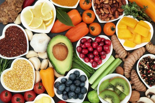 vegan and vegetarians can boost their collagen from fruits, vegetables, nuts, seeds