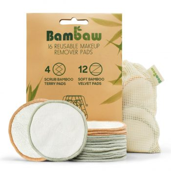Swaps to Help Reduce Your Plastic Waste - bambaw reusable makeup wipes