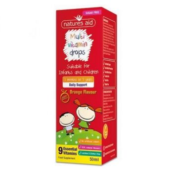 Nature's aid multivitamin drops - support for kids